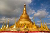 Tachileik Shwedagon Pagoda — Stock Photo