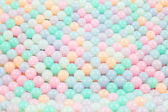 Colorful glass beads background, Close up — Stock Photo
