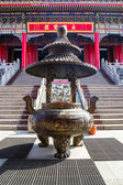 Entrance of Leng Noei Yi 2 temple  — Stock Photo