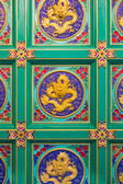 Ceiling of Leng Noei Yi 2 temple  — Stock Photo