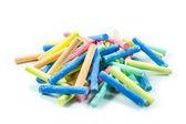 Coloured chalks — 图库照片