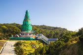King and Queen pagoda (Noppha Methanidon and Noppha Phon Phum Si — Stock Photo