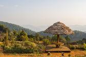 Viewpoint at monjam resort, Chiang Mai — Stock Photo