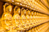 Golden Chainese Buddha at Leng Noei Yi 2 temple  — Stock Photo