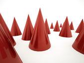 红锥 — 图库照片