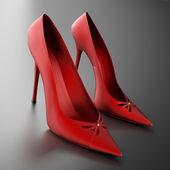 Women's heels — Stock Photo