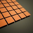 Abstract orange cubes background — Stock Photo #46325281