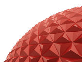 Abstract sphere polygons texture  — Stock Photo
