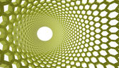 Green abstract mesh background — Stock Photo