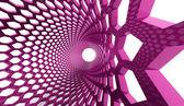 六角形のピンクの背景 — ストック写真