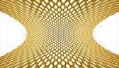 Sfondo giallo maglia esagonale — Foto Stock