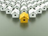 Houses concept — Stock Photo