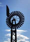 Windmill with blue sky — Stock Photo