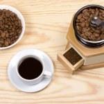 Kaffeemühle, gemahlen — Stockfoto #49437205