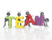 The team word — Stock Photo