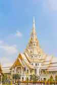 Buddhist church at Wat Sotorn temple in Chacherngsuo province ,T — Stock Photo