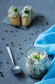 Pate herring — Stock Photo