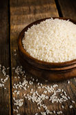 Rice in the bowl — Stock Photo