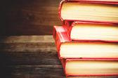 Stack of books — Foto de Stock