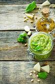 Sauce pesto frais — Foto Stock
