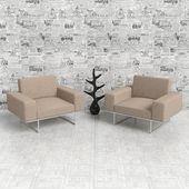 Fotel — Zdjęcie stockowe