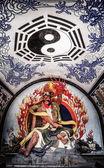 Lijiashan Hobitton in China — Stock Photo