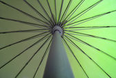 Close up of umbrella pattern — Stockfoto