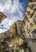 Naples - working class district — Stock Photo