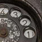 Old black telephone — Stock Photo #50306489