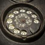 Old black telephone — Stock Photo #50307235