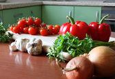 新鲜美味的蔬菜 — 图库照片
