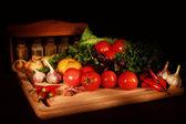 有机农产品 — 图库照片