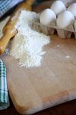 Rouleau à pâtisserie vintage — Photo