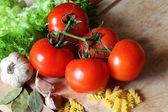 Ingredients of pasta — Foto de Stock