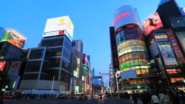 Ginza,Tokyo,Japan — Stock Video