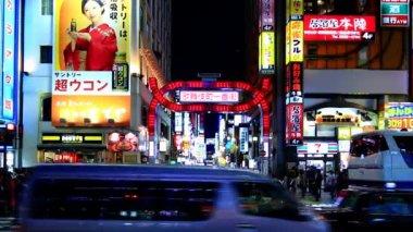 Shinjyuku,Tokyo,Japan — Stock Video