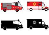 Fireman transportation — Стоковое фото