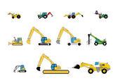 Children's toys digger — Vettoriale Stock
