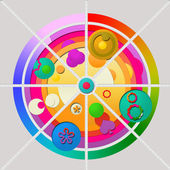 Shape and Color — Stock Photo