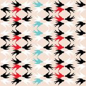 šablona vlaštovky — Stock fotografie