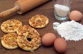 Cookies recipe — Stock Photo