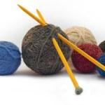 Постер, плакат: Knitting threads