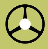 Kolo ikona — Stock vektor