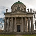 Roman Catholic church of the Exaltation of the Holy and St. Joseph. — Stock Photo