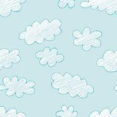Sky vector cloud — Stock Vector