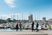 La Rochelle city, France — Stock Photo