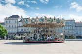 Famous French carousel — Stock Photo