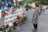 Ukraine.Kiev, Independence Square. Maidan. — Stock Photo