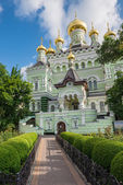 Pokrovsky Monastery. Kiev. Ukraine — Stock Photo