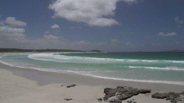 Twilight Beach in Great Ocean Drive — Stock Video